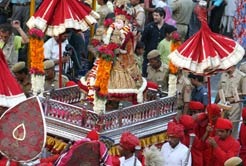Gangaur fare festival Rajasthan travel