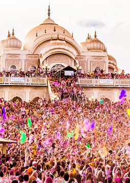 golden triangle holi festival