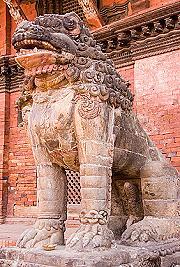 Stone Lion Durbar