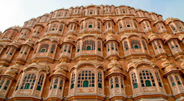 golden triangle hawa mahal jaipur
