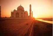 itinerario de la india taj mahal