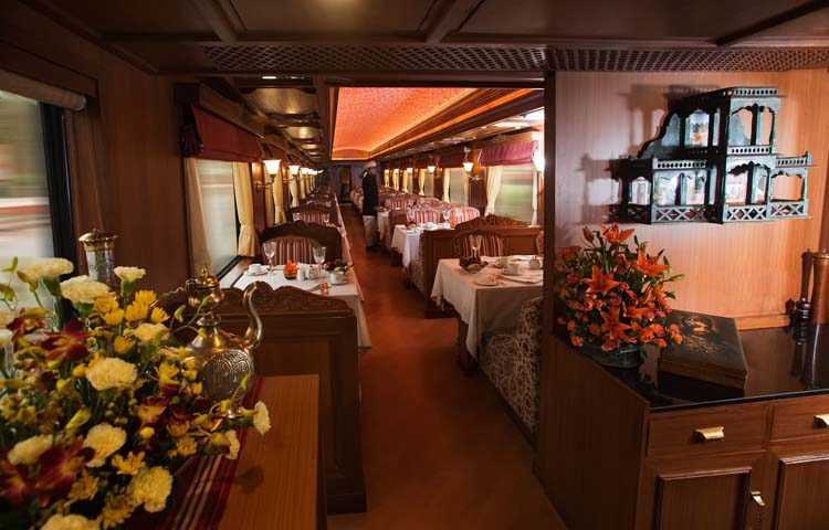 maharaja express interior