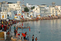 golden triangle tour pushkar rajasthan
