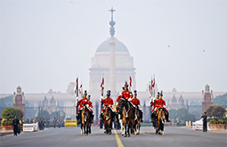 golden triangle president guard new delhi