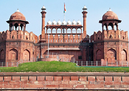 golden triangle red fort new delhi